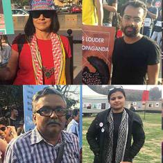 Say 'no' to war and hate: In Delhi and Mumbai, residents rally for India-Pakistan peace, tolerance