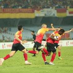 Football: East Bengal defeat Minerva Punjab to take I-League title race with Chennai to final day