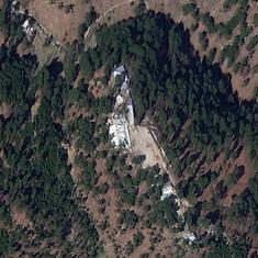 What does the satellite imagery tell us about the Indian airstrike on Balakot?