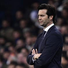 Champions League: Solari won't give up as Real's coach but he may not have an option