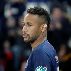 Neymar banned for three Uefa Champions League matches after abusive social media rant