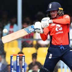 Sixth straight loss for India as another batting failure gives England T20I series