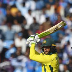 Usman Khawaja's ton, Aaron Finch's 93 take Australia to 313-5 in the Ranchi ODI