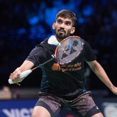 Denmark Open: Kidambi Srikanth reaches quarter-finals, Lakshya Sen loses in second round