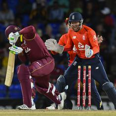 England bowl West Indies out for second lowest T20I total to win by 137 runs