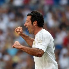 Luis Figo on lessons from Cruyff, what ails Real Madrid, how to win the Champions League and more