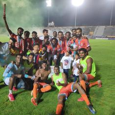 I-League: Chennai City FC crowned champions after come-from-behind win against Minerva Punjab