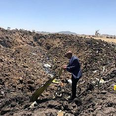 All 157 on board killed after Ethiopian Airlines flight crashes minutes after take-off