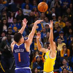 NBA round-up: Suns snap losing streak by stunning Warriors, Kyle Lowry shines against Heat