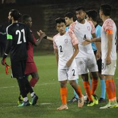 Football: India U-23 lose to Qatar in preparatory match ahead of AFC Championship Qualifiers
