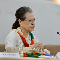 CWC meeting: People been victimised, but Modi is playing the victim card, says Sonia Gandhi