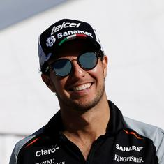 Formula One: Sergio Perez first driver to test positive for Covid-19 but British GP to go ahead