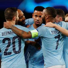 With Premier League title in sight, second-placed Manchester City run into Spurs