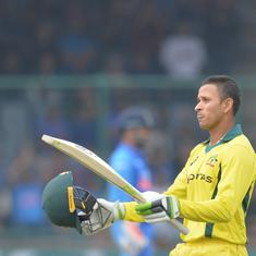 Delhi ODI: Indian bowlers fight back after Khawaja century to restrict Australia to 272/9