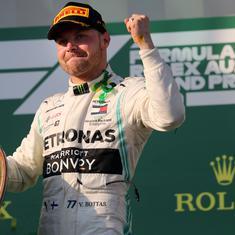 Mercedes' Valtteri Bottas upstages Lewis Hamilton to win season-opening Australian GP