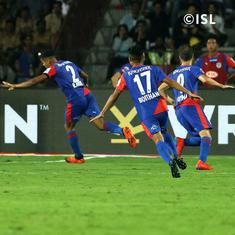 Rahul Bheke's extra-time header steers Bengaluru FC to their first ISL title