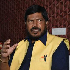 BJP-Shiv Sena should not take Dalit support for granted, says Ramdas Athawale: The Indian Express