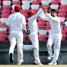 A historic win: Afghanistan beat Ireland to claim first Test cricket victory