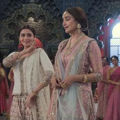 Song check: Alia Bhatt and Madhuri Dixit sing for love in 'Ghar More Pardesiya' from 'Kalank'