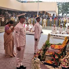 Top news: Manohar Parrikar cremated with state honours, thousands join funeral procession