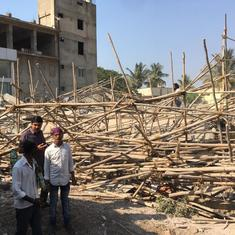 Karnataka: Two dead after building collapses in Dharwad district, several trapped