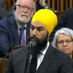 Watch: Indian-origin Jagmeet Singh greeted with cheers after making history in Canadian parliament