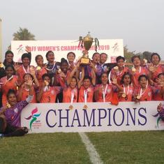 Football: India win SAFF Women's Championship for the fifth time in a row