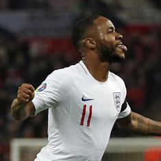 Euro 2020 qualifiers: Bulgaria fan arrested for racially abusing England's Raheem Sterling