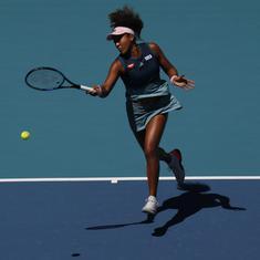 Miami Open, WTA wrap: Osaka battles though, Serena survives scare as Venus cruises
