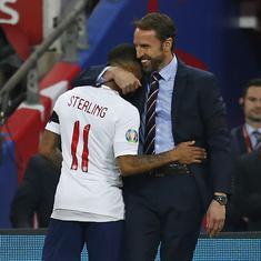 Euro 2020 qualifiers: Southgate praises 'devastating' Sterling after maiden hat-trick for England