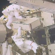 Watch: NASA astronauts go on the first spacewalk of 2019 to upgrade the International Space Station
