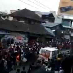 Watch: This was how a huge festive crowd in Kerala instantly made way for an ambulance