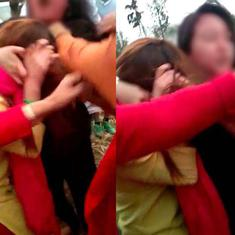 Why were people attending a Manipur spring festival party assaulted by women's groups?
