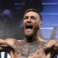 Irish mixed martial arts star Conor McGregor arrested in Corsica for alleged indecent exposure
