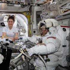 NASA cancels all-female spacewalk, cites lack of well-fitting spacesuits
