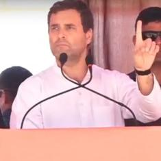 Narendra Modi has been trying to create two Indias, says Rahul Gandhi in Rajasthan