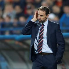 Want to talk about football: England manager Southgate calm despite Bulgaria coach's racism jibe