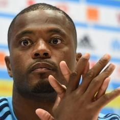 Legal complaints filed against footballer Patrice Evra over homophobic slur towards PSG players
