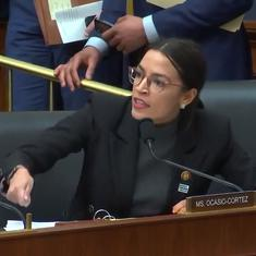 Watch: US Congresswoman Alexandria Ocasio-Cortez blasts Republicans calling climate change 'elitist'