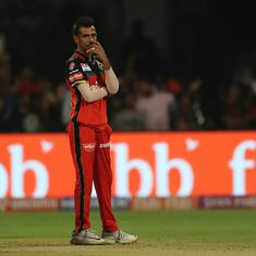 Felt like Stuart Broad: Chahal after being hit by Yuvraj Singh for three successive sixes
