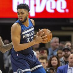 NBA: Timberwolves beat defending champs Warriors in controversial overtime win