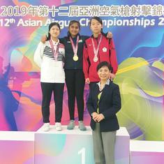 Asian Airgun Championships: Sarabjot Singh, Esha Singh win gold in junior air pistol
