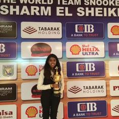 Cue sports: National snooker champion Varsha Sanjeev on the challenges for women players in India