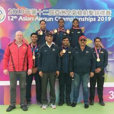 Asian Airgun C'ships: Divyansh Singh Panwar, Elavenil Valarivan lead rifle gold clean sweep