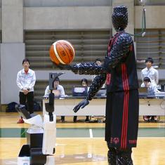 Watch: This human-shaped robot from Toyota is an expert basketball player