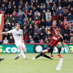Barnes stars in Burnley's 3-1 win over Bournemouth to boost Premier League survival bid