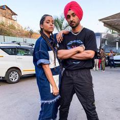 Watch this hilarious 'Punjabi' meeting between 'Superwoman' Lilly Singh and singer Diljit Dosanjh