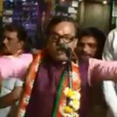 Watch: BJP leader Vineet Sharda is back with a new 'rap' riff on the campaign trail