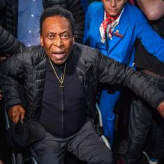 He gets very embarrassed: Son says football great Pele is depressed due to lack of mobility