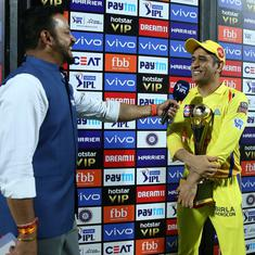 IPL 2019: When the post-match presenter chose to ignore MS Dhoni's outburst against umpires